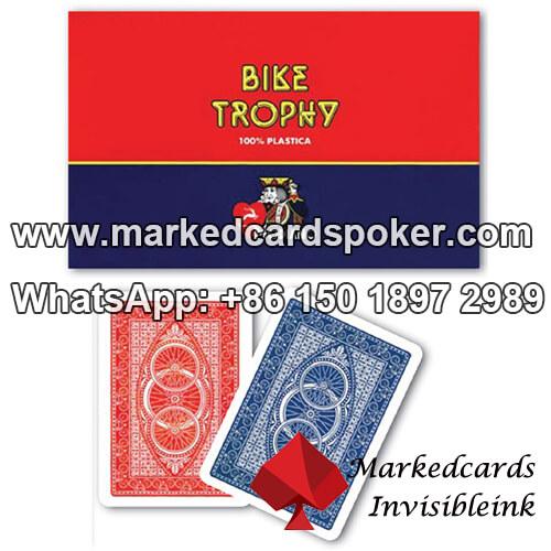 Bike Trophy Jumbo Index Modiano Poker