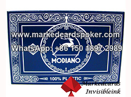 Modiano Black Jack Marked Playing Cards