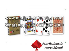Golden Trophy PVC Playing Cards Of Modiano