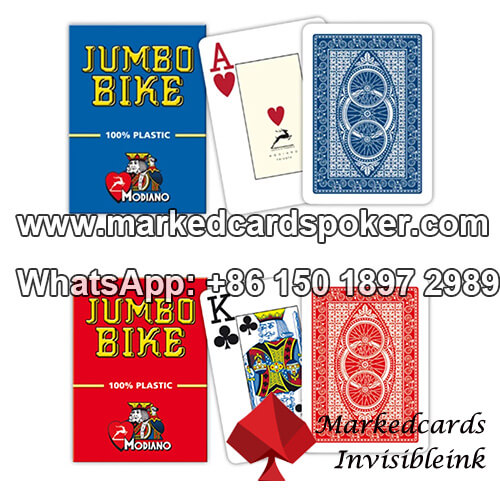 Modiano Jumbo Bike Marked Playing Cards