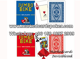 Modiano marked invisible ink poker cards