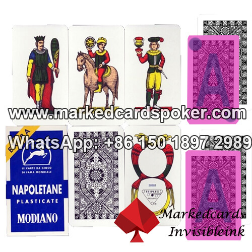 Modiano Napoletane Marked Playing Cards