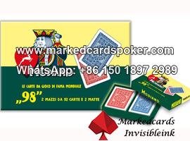 Modiano NO98 cartas de juego marcadas