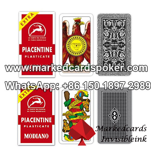 Best Modiano Piacentine Marked Cards