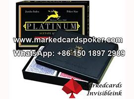 Modiano Platinum cartas marcadas poquer