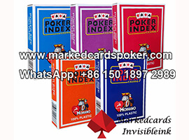 Best Way To Mark Cards Modiano Poker Index