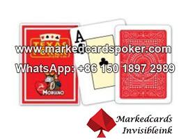 100% de plastico cubiertas Modiano Texas Holdem poker en venta