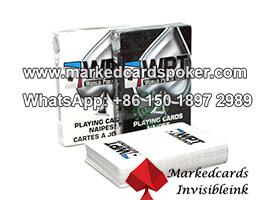 tarjetas marcadas lentes de contacto Modiano WPT poker
