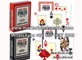Modiano WSOP Marked Playing Cards