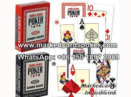 Modiano WSOP jugando a las cartas marcadas