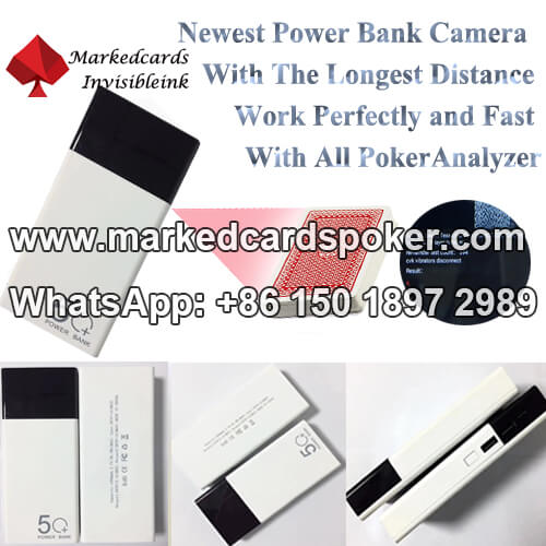 newest poker bank poker cheating scanner camera