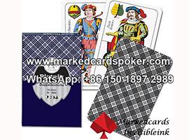 Piatnik Doppeldeutsche Nr.1808 cartas de juego marcadas