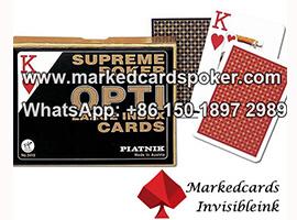 Tinta invisible para las tarjetas de juego OPTI de Piatnik