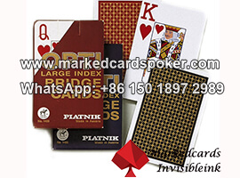 Luminous Marking Poker Piatnik Cards
