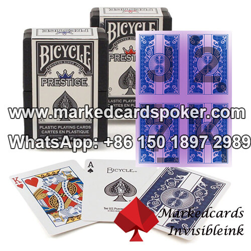 Plastic Bicycle Ultimate Marked Poker Decks