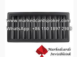 Codigo de barras marcado tarjetas chip bandeja ganador sistema de escaneo