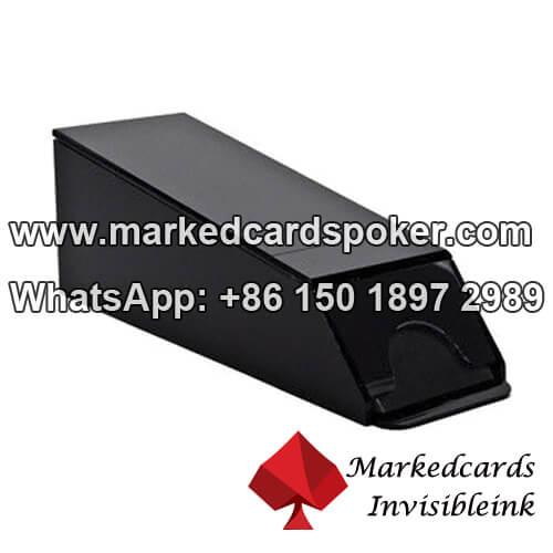 Sapato de plastico Blackjack camera vencedora de poquer