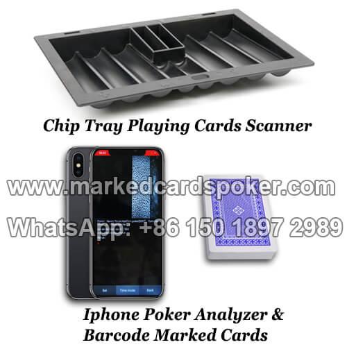poker chip tray scanner camera