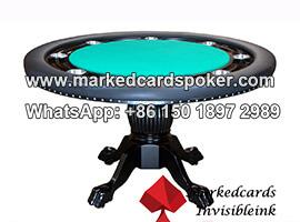 Tarjetas de codigo de barras marcadas decks inspector de mesa de poquer