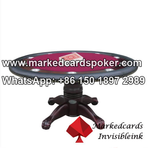 Poker table marked cards scanner