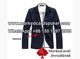 Processed Clothes Marked Poker Cards Scanner