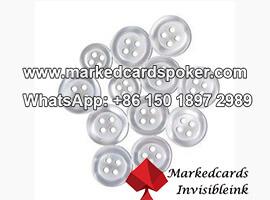 Extraible camisa boton codigo de barras poker escaner