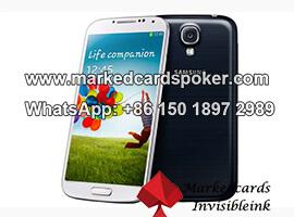 Telefono movil Samsung escaner de codigo de barras de poquer