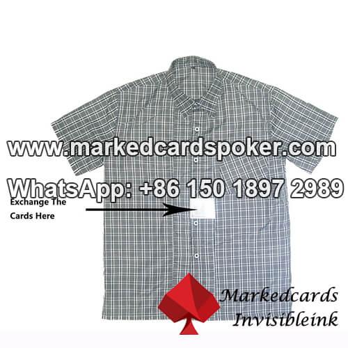 O que e camisa peito jogar as cartas trocador usado para?