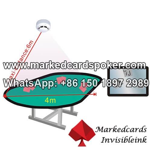 Detector de fumaca camera de poker IR