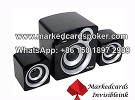 Caja de sonido de tarjetas de poquer trampa camara IR