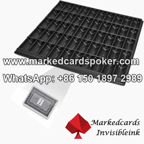 Square Chip Tray Marked Poker Scanning Camera