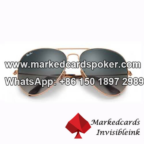 Aviator Marked Playing Cards Glasses