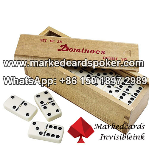 How To Mark Dominoes With Invisible Ink