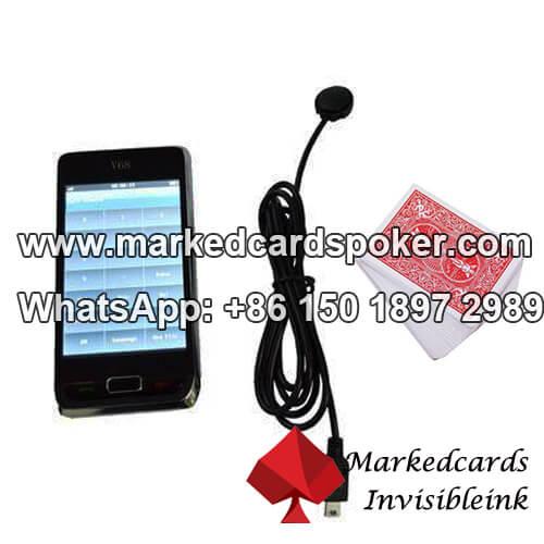 Analizador de poker V68